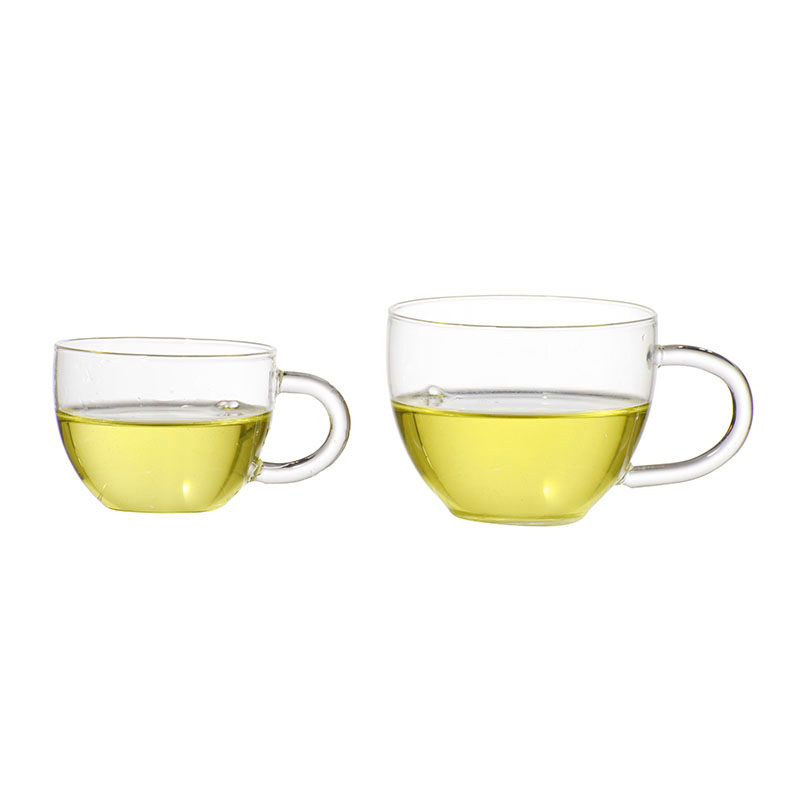 small clear double wall glass coffee cup tea cups